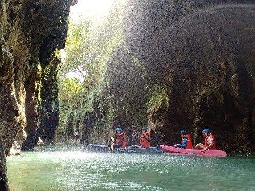 Batu Lumpang Garden wisata andalan paporit wisatawan di Pangandaran