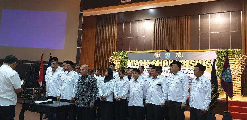 Asep Nugraha Dilantik Menjadi Ketua Kadin Kota Banjar, Periode 2018-2023