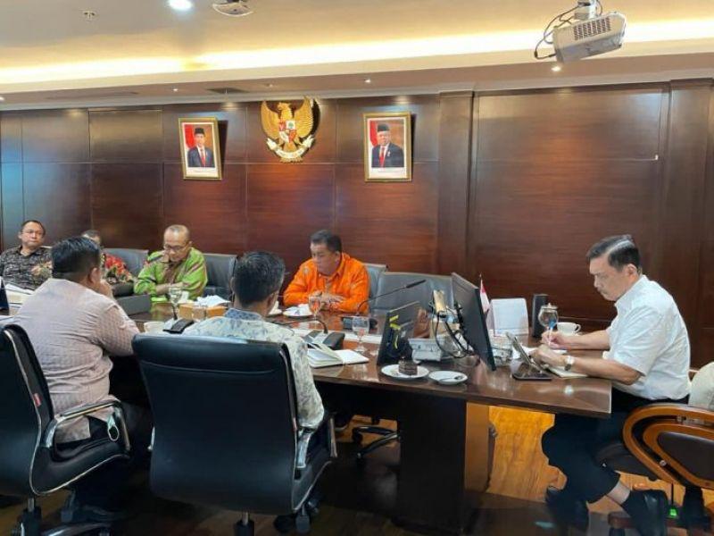 Cucu Sutara Temui Luhut, Airlangga, dan Bahlil demi Jawa barat