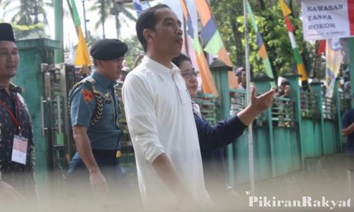 Presiden Jokowi, akan meresmijan Keramba Jaring Apung (KJA) Offshore. di Pangandaran