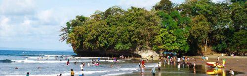 Pantai Batu Karas Pangandaran, Objek Wisata yang Sudah Diakui Dunia