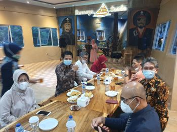Kunjungan Staf Khusus Kementrian Koprasi ke Daerah di Jawa Barat