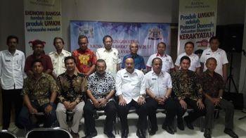 Kunker Ketua Kadin Jabar Bpk Agung Suryamal Ke Pangandaran,
